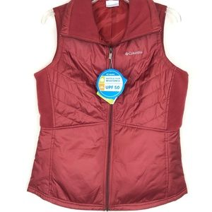 Columbia water and stain resistant vest with UPF50